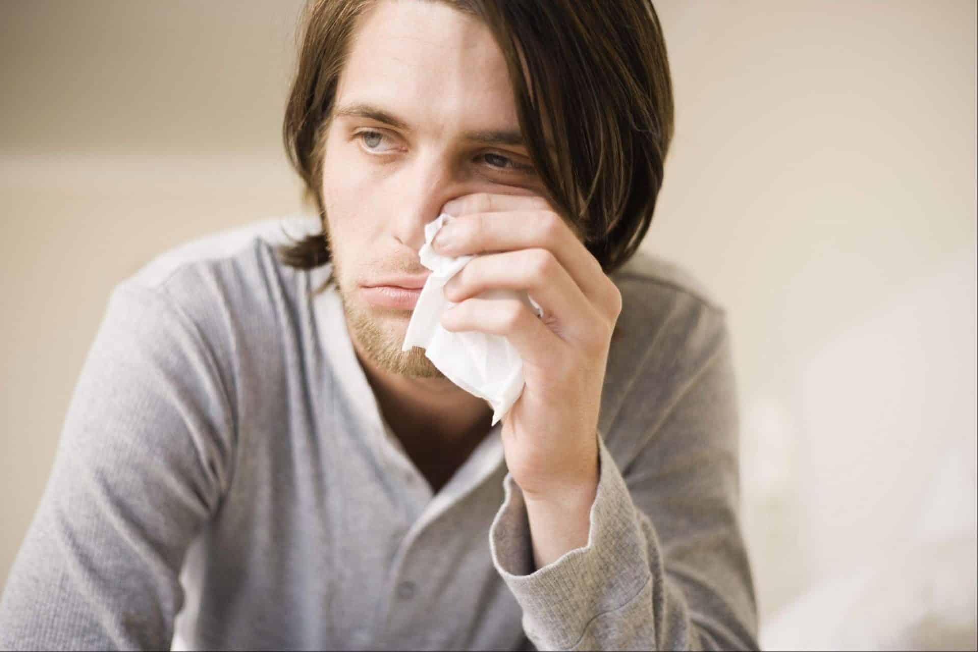 После простуды не проходит насморк