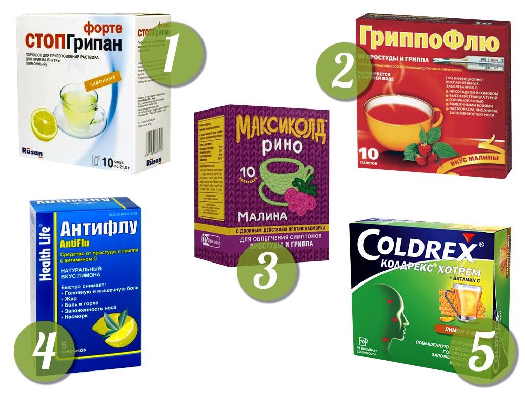 Порошок против гриппа для детей thumbnail