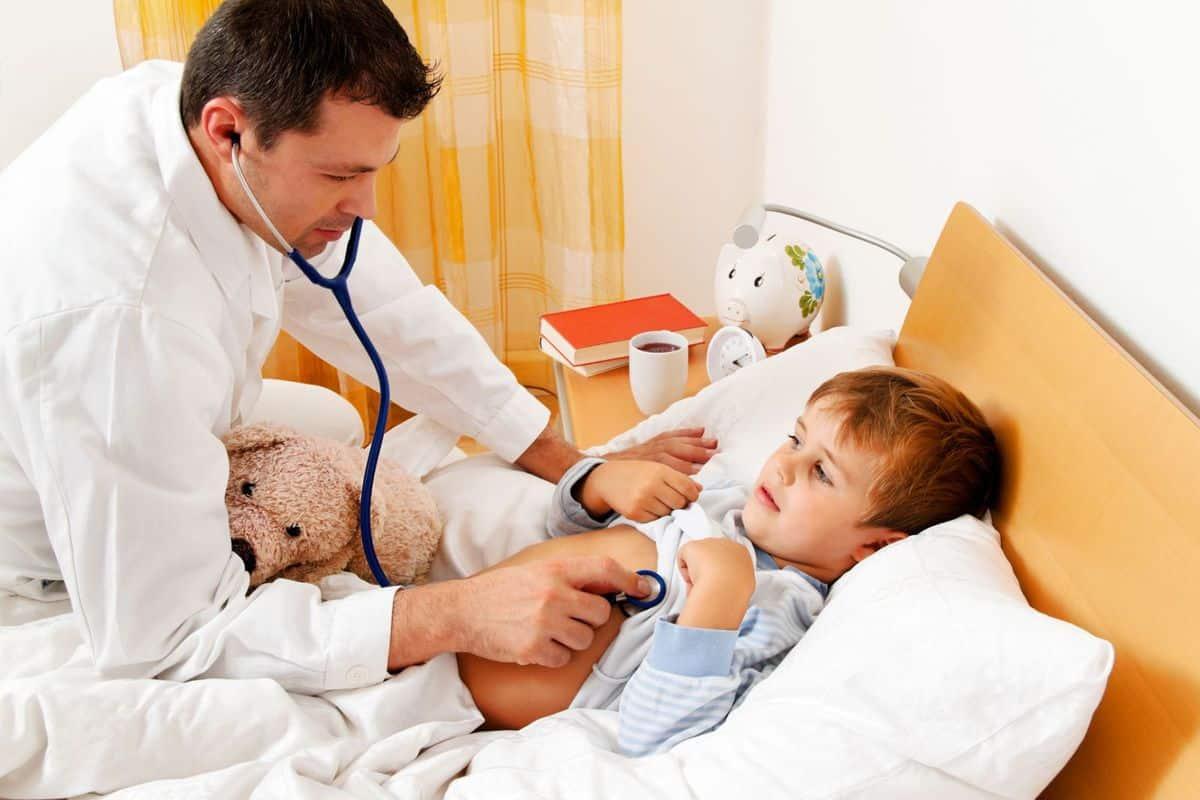 Что делать, если ребёнок простудился?