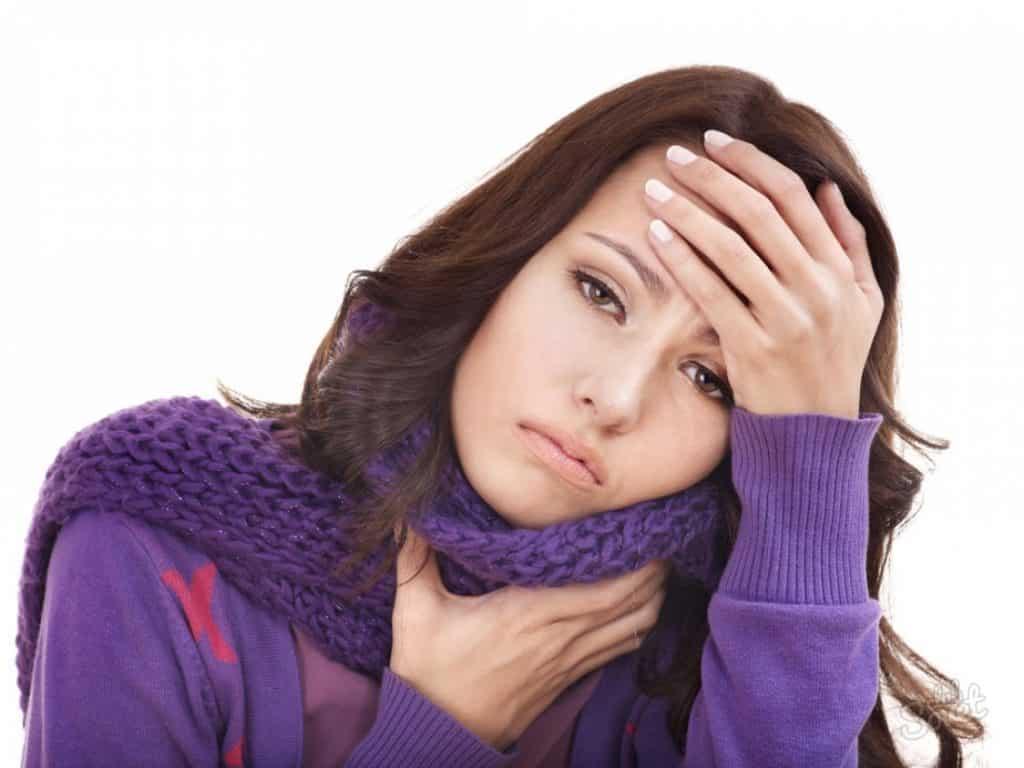 Симптомы при боли в горле
