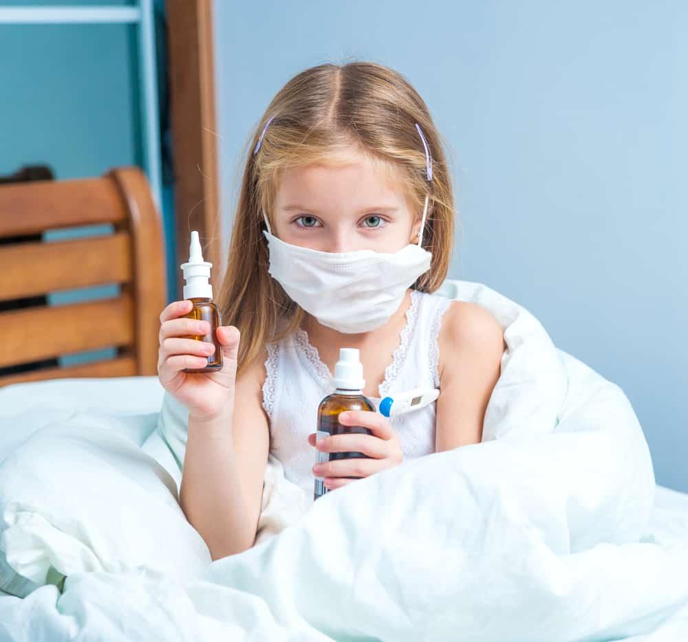 Лечение инфекционного хронического ринита