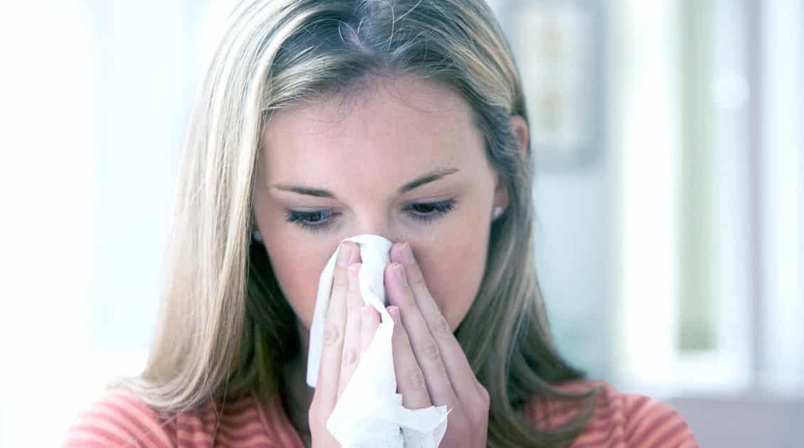 Коричневые сопли из носа у взрослого